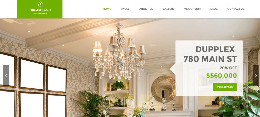 Premium Real Estate WordPress Theme